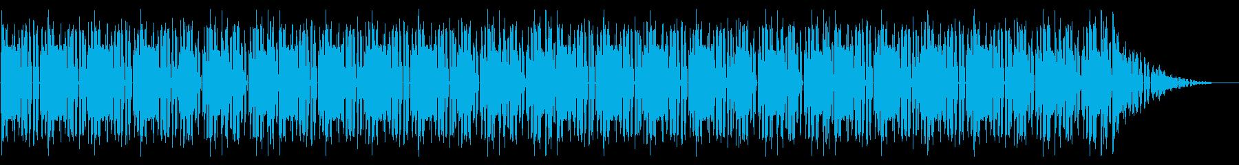 GB風スポーツゲームのリザルトBGMの再生済みの波形