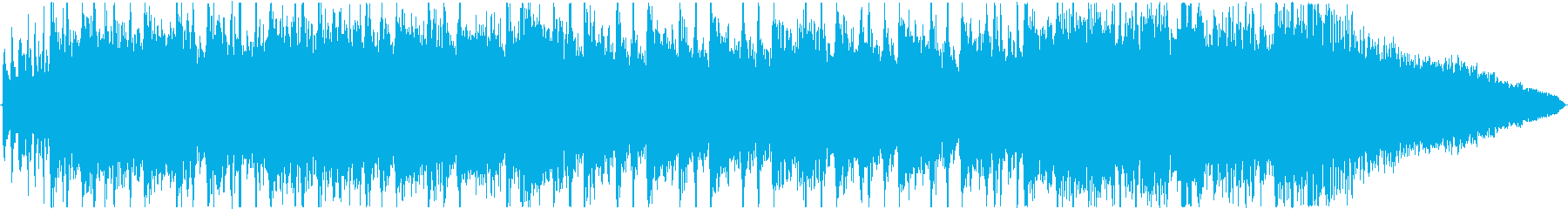 エピックギターシンフォニックロックの再生済みの波形