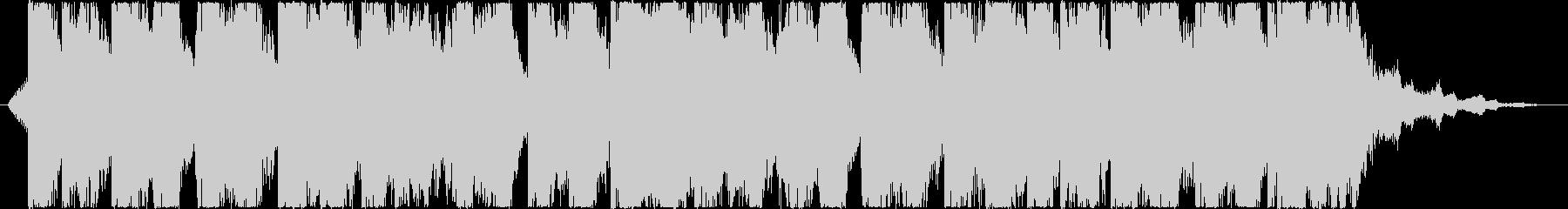 ファンキーポップ勢いあるわくわくジングルの未再生の波形