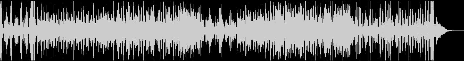 アップテンポでカッコいいピアノ曲の未再生の波形