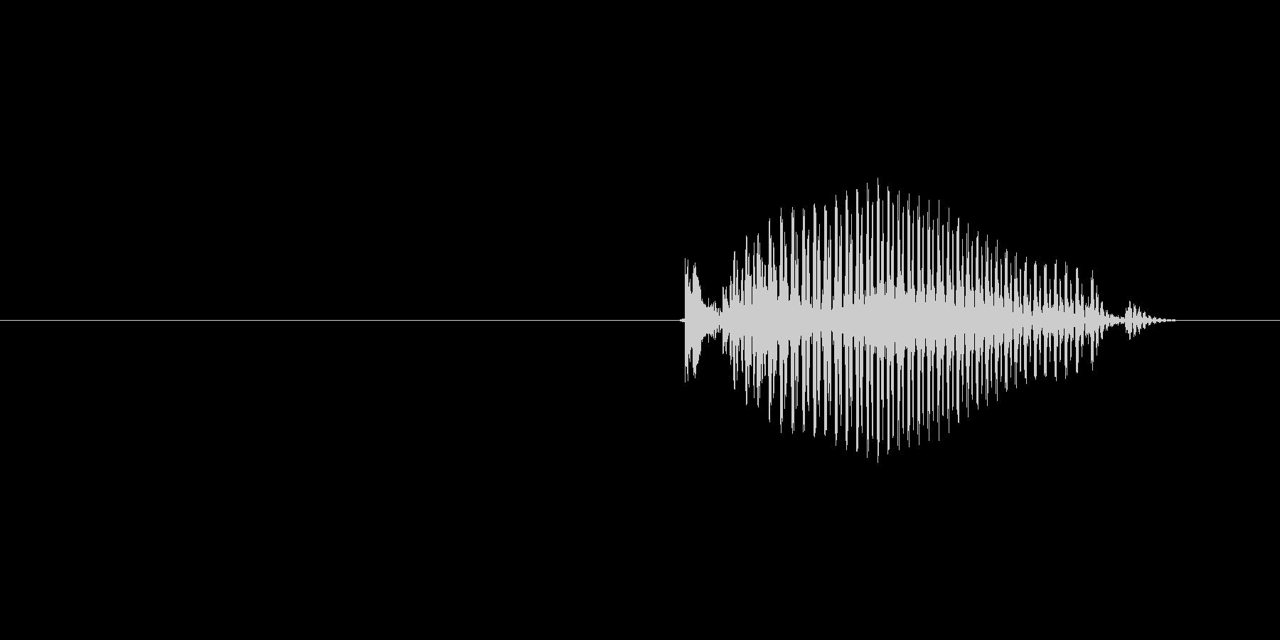 5(数字、女性)の未再生の波形