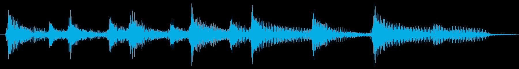 三線・ウクレレ・沖縄・夏ジングルの再生済みの波形