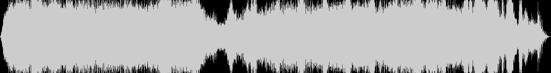 【ダークアンビエント】 消えた城の未再生の波形