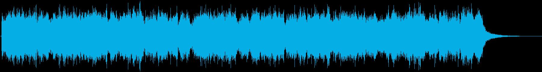シーン1の再生済みの波形