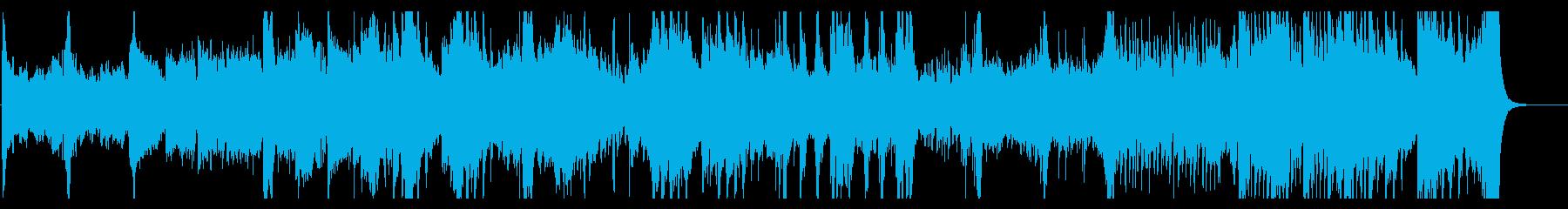 感動と癒しの映画アイリッシュミュージックの再生済みの波形