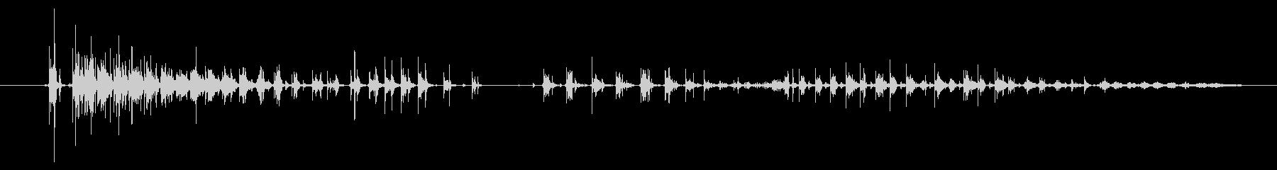 口 ブローリップス01の未再生の波形