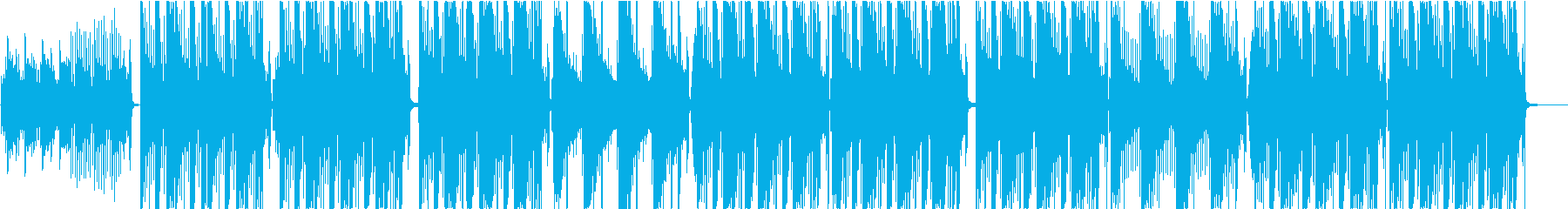 ヒップホップ、アコースティックギター。の再生済みの波形