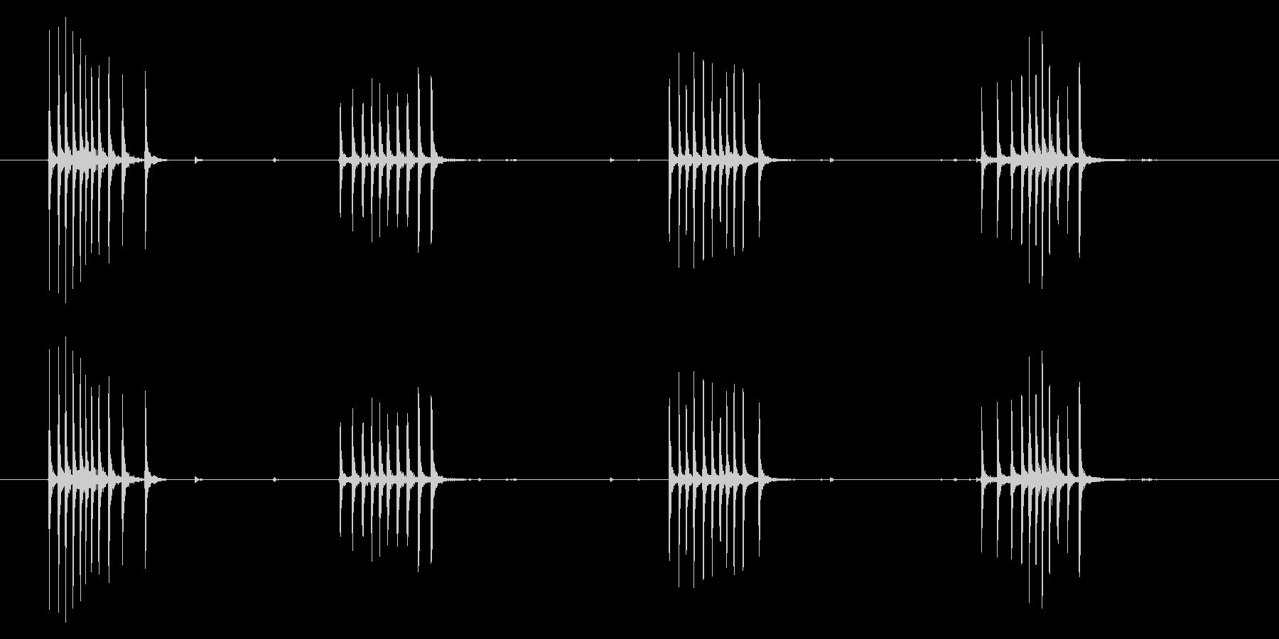時計 アラーム03-06(ダイアル)の未再生の波形