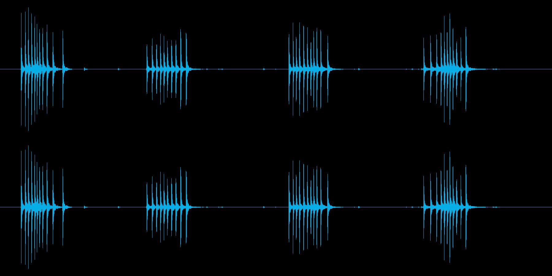 時計 アラーム03-06(ダイアル)の再生済みの波形