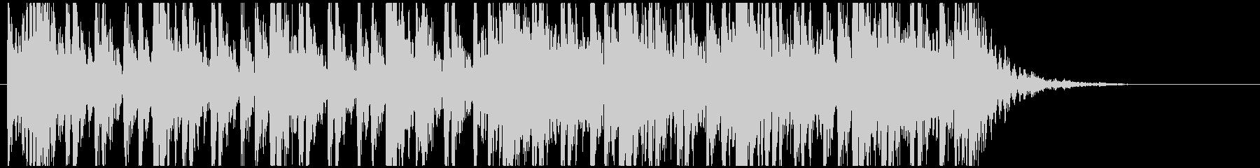 和太鼓のフレーズ3 残響なしの未再生の波形