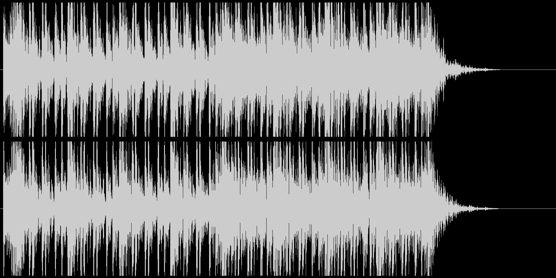 和太鼓のフレーズ3 残響なしBPM130の未再生の波形