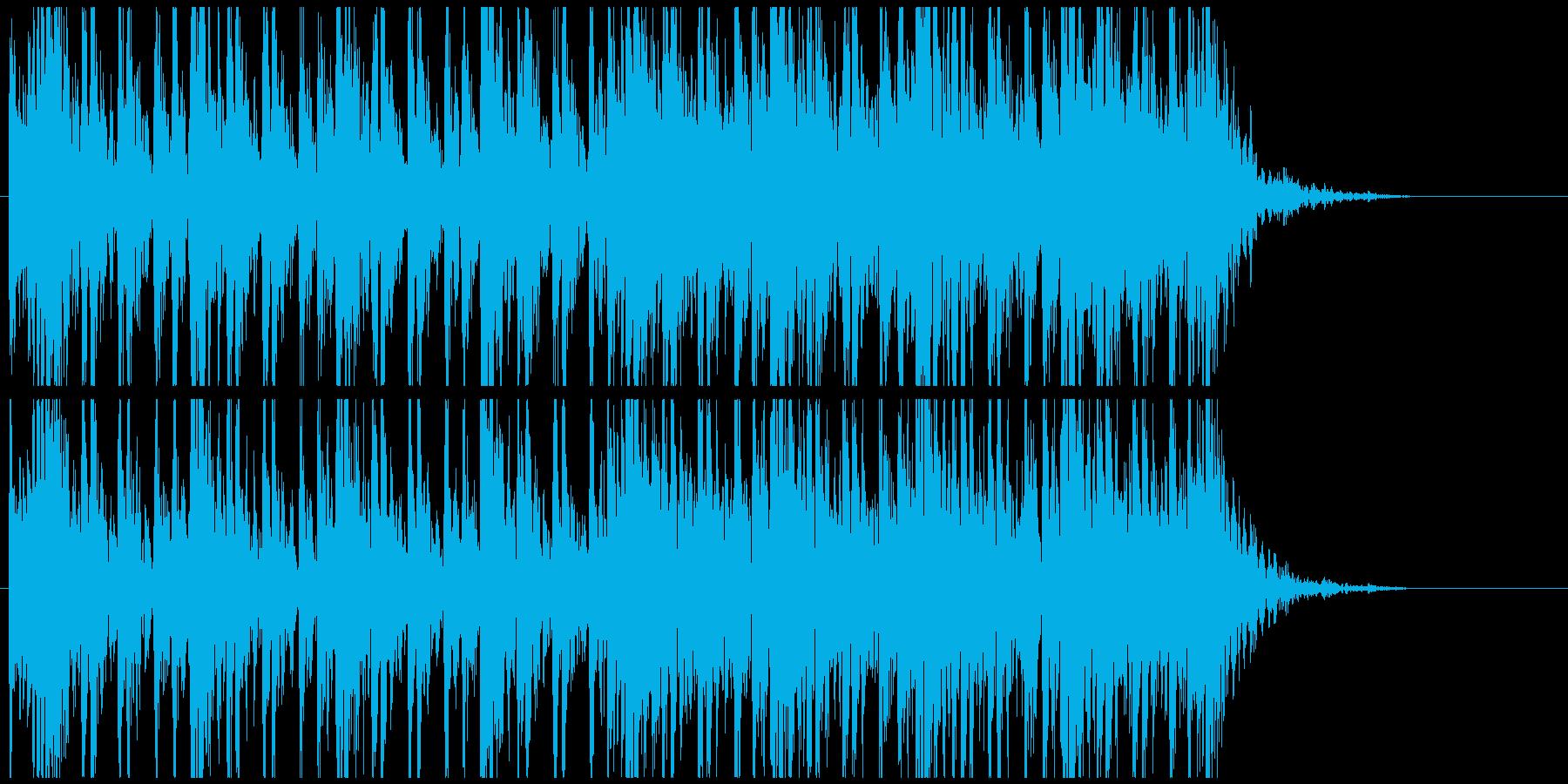 和太鼓のフレーズ3 残響なしBPM130の再生済みの波形