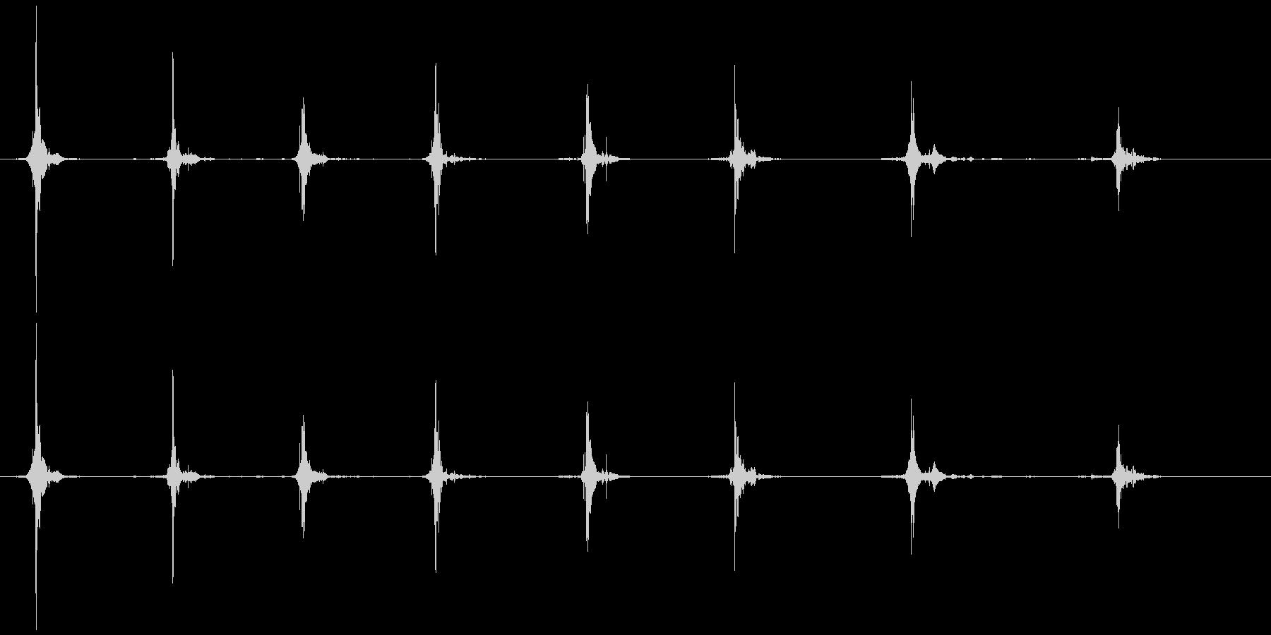 鳥 翼フラップ05の未再生の波形