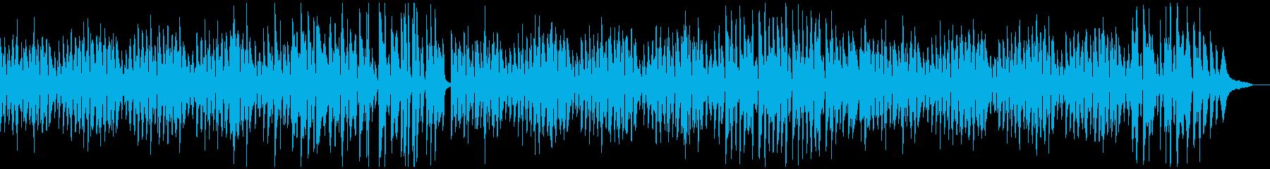 日常シーン向きのほのぼの可愛い曲の再生済みの波形