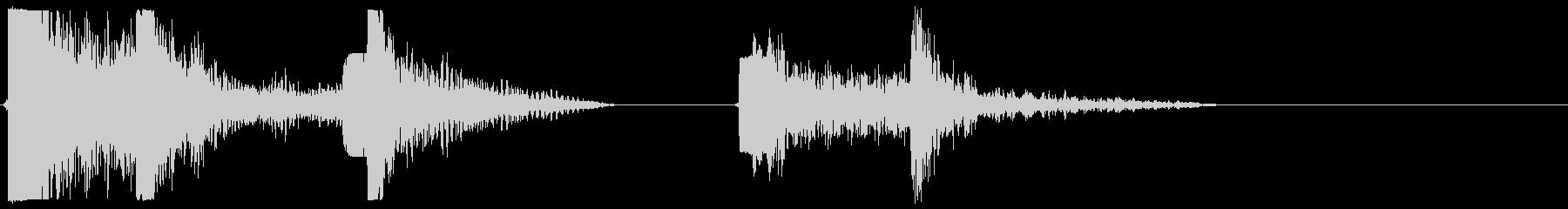 エアロック、巨大、オープンとクローズ1の未再生の波形