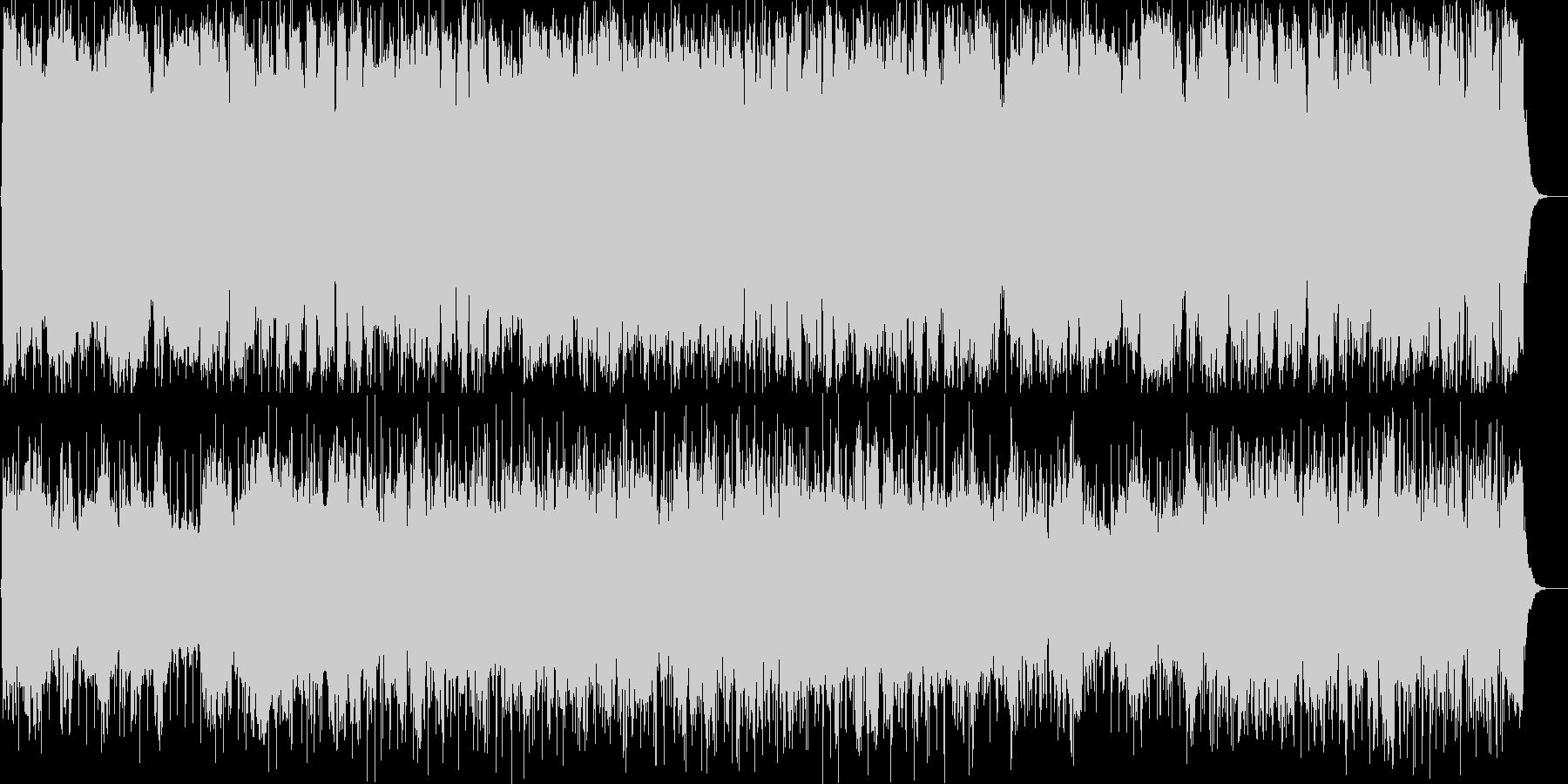 のどかでおしゃれなラウンジ系BGMの未再生の波形