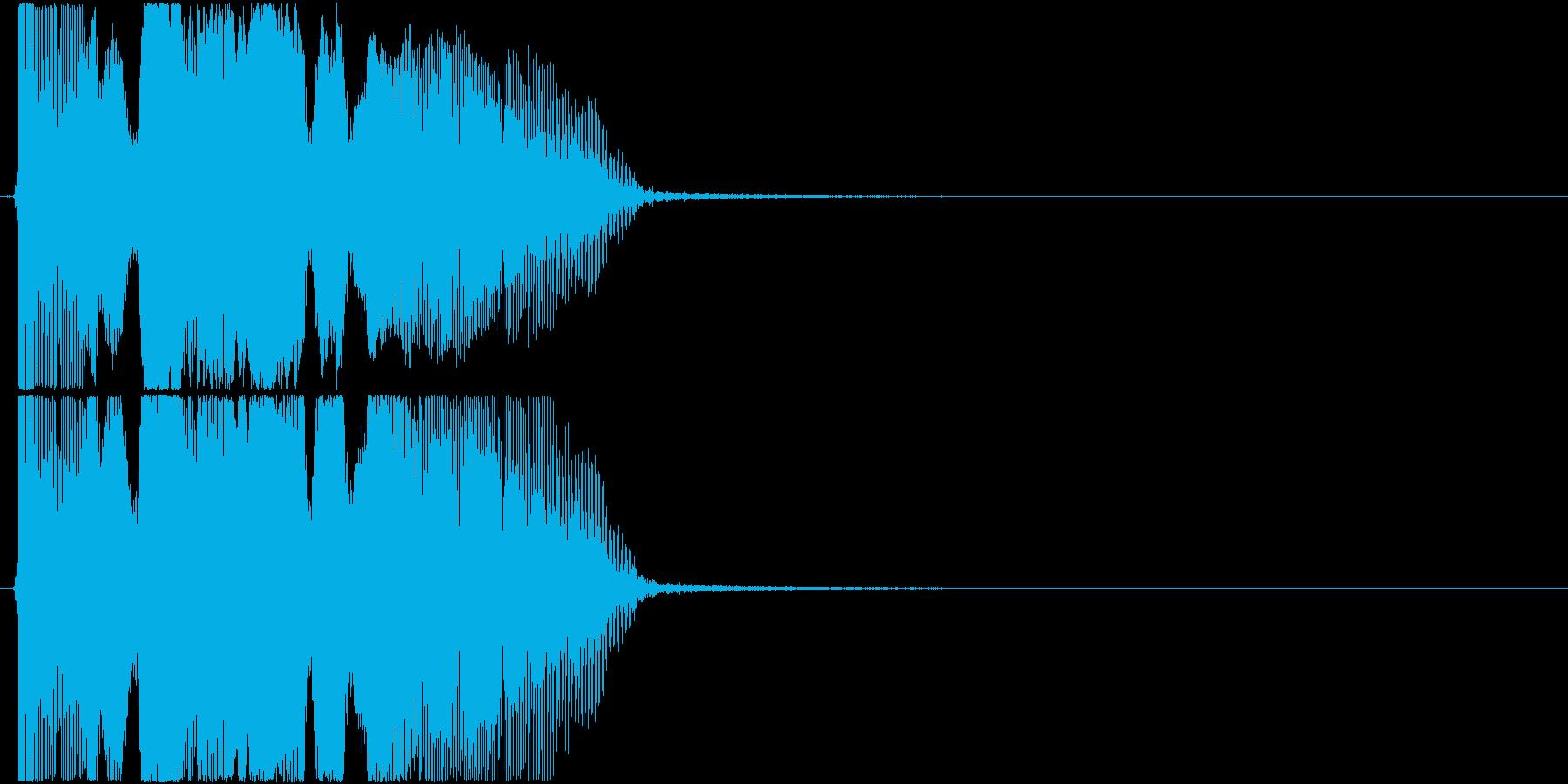 「アンビリーバボー!」ゲーム・アプリ用の再生済みの波形