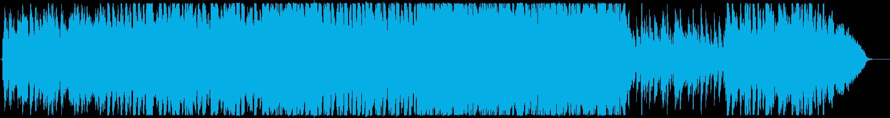 おしゃれ3の再生済みの波形