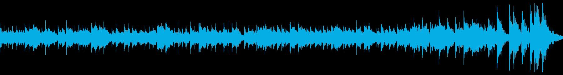 ピアノとインディアンのリズムが融合の再生済みの波形