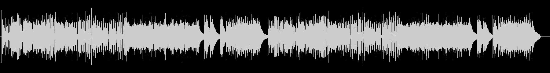 鉄琴とピアノによる懐かしい感じのポップスの未再生の波形