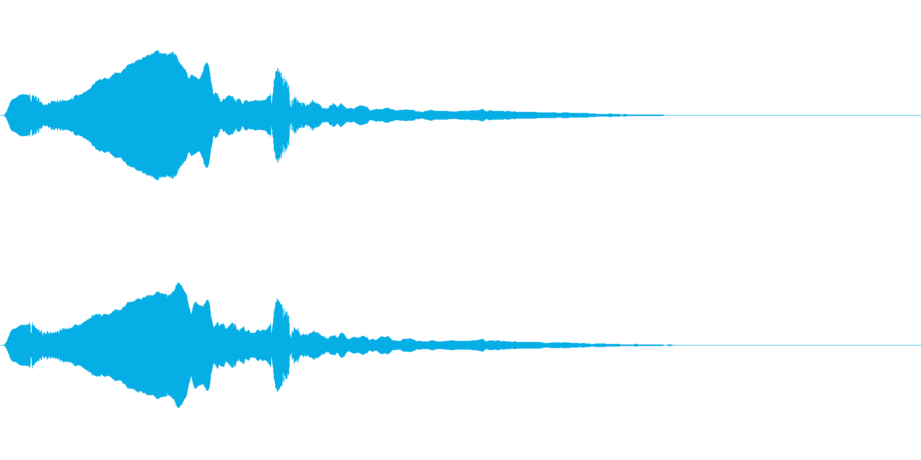 尺八 生演奏 古典風 残響音有 #4の再生済みの波形