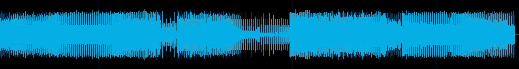 ダークな感じのミニマルテクノの再生済みの波形