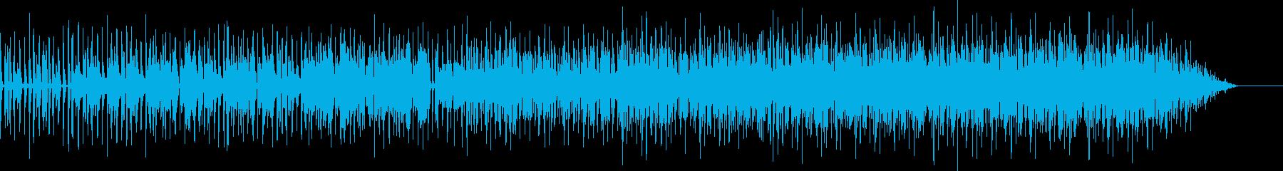 ベースラインのかっこいいオシャレR&Bの再生済みの波形