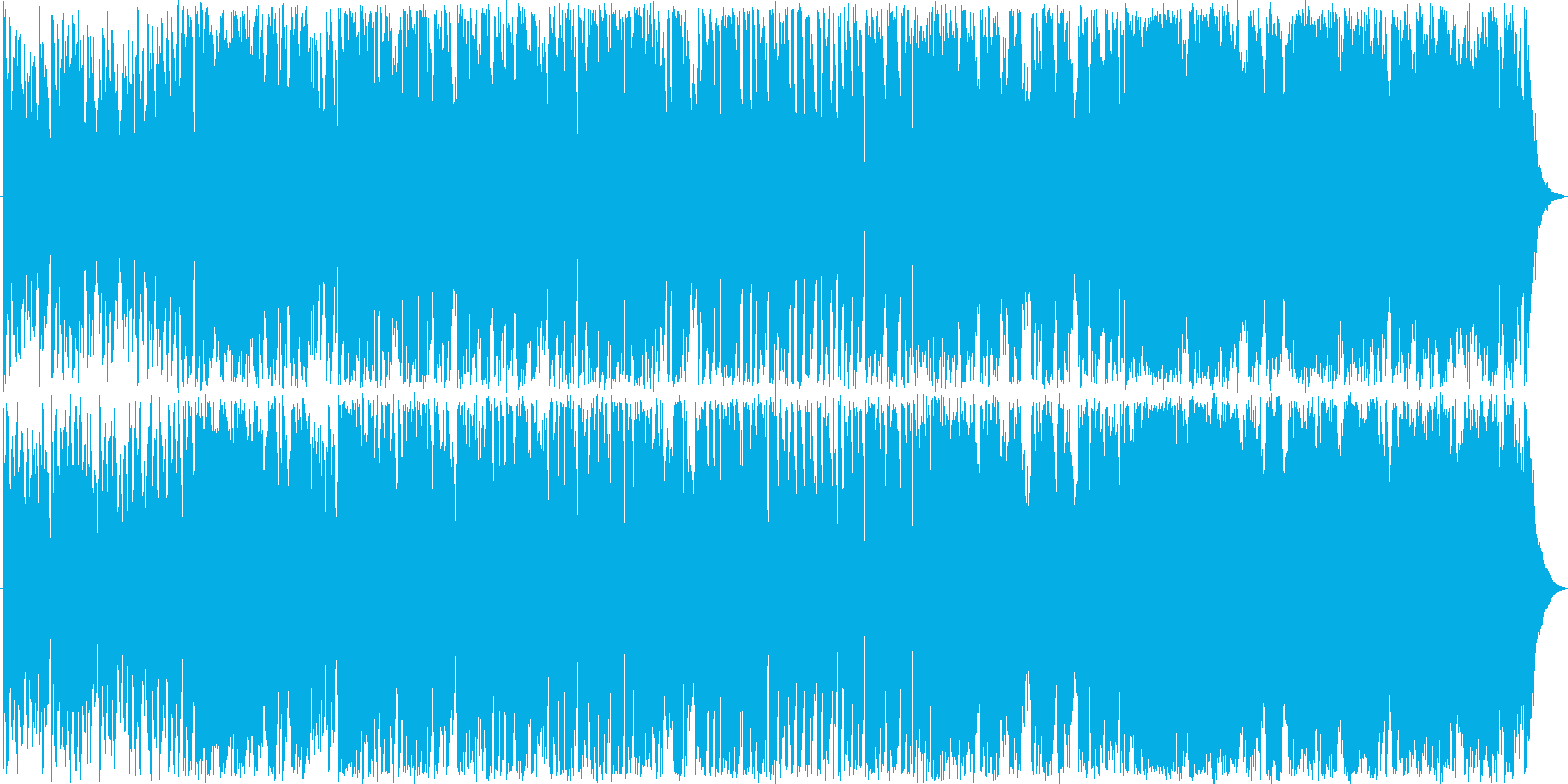 哀愁のあるエレクトロジャズ風ミュージックの再生済みの波形