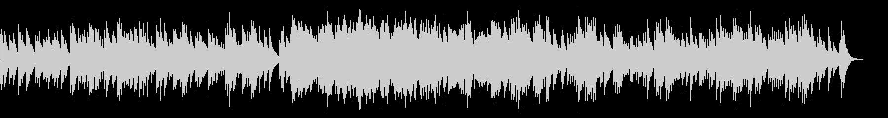 カノン 72弁オルゴールの未再生の波形