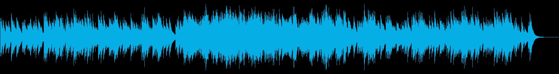 カノン 72弁オルゴールの再生済みの波形