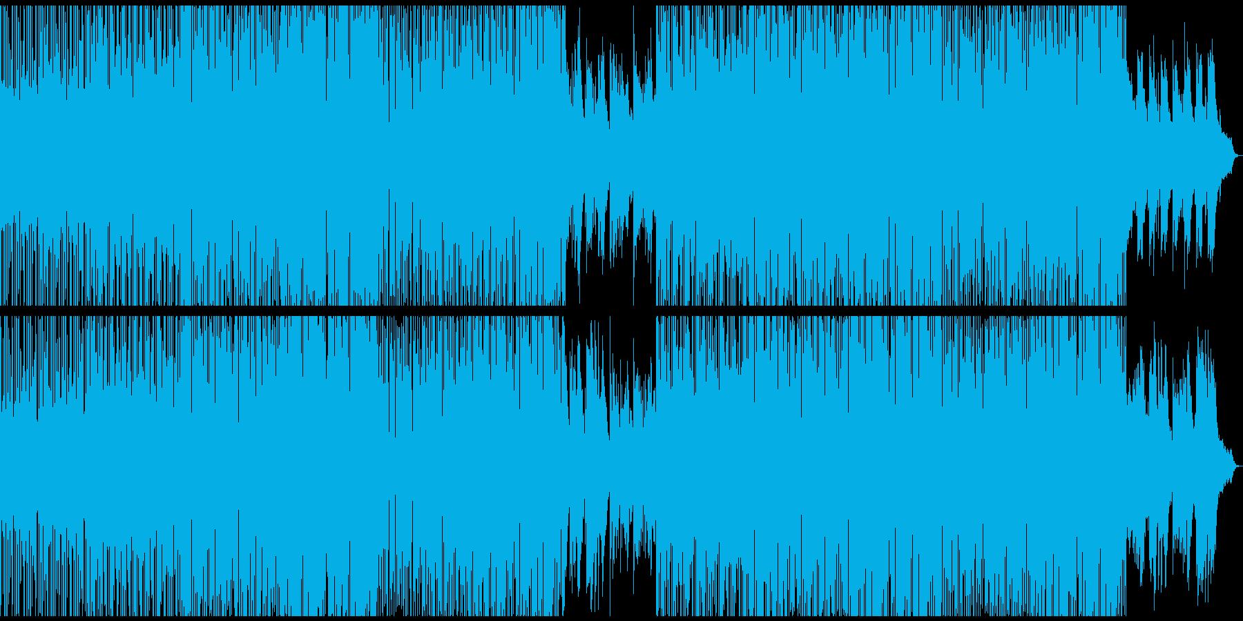 優しくも重厚なシンセサウンドの再生済みの波形