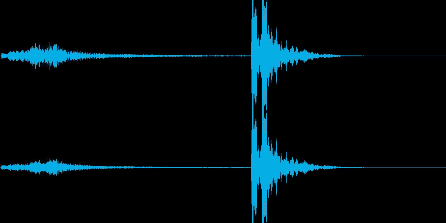 「シャララララン ポポン(琴と鼓)」の再生済みの波形