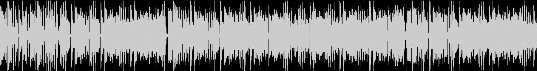 かわいいコミカル/カラオケ/ループの未再生の波形