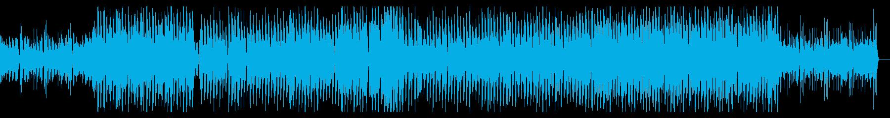 00年代初頭のJazztronikハウスの再生済みの波形