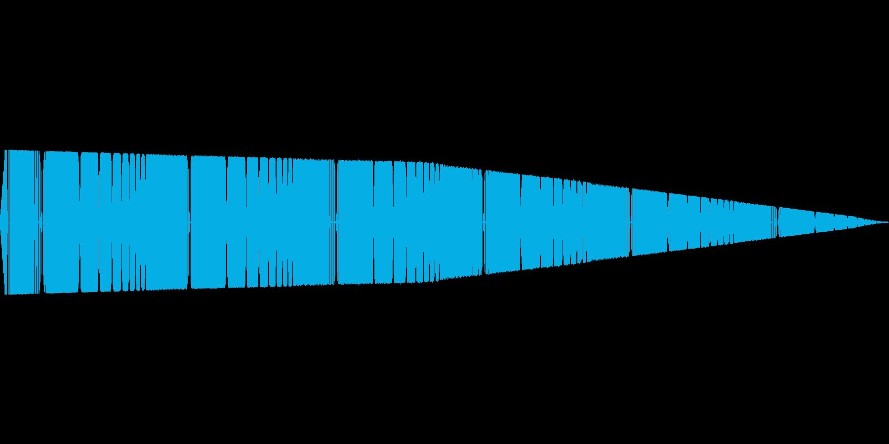 ピーピー(ピコピコ/警告/アラームの再生済みの波形