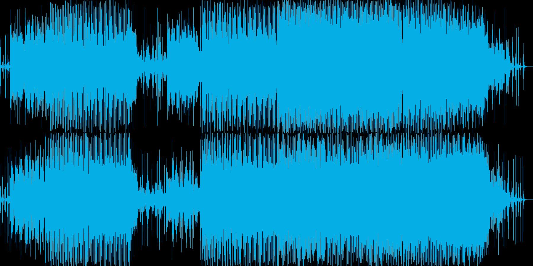 水滴音が幻想的なミディアムテンポナンバーの再生済みの波形
