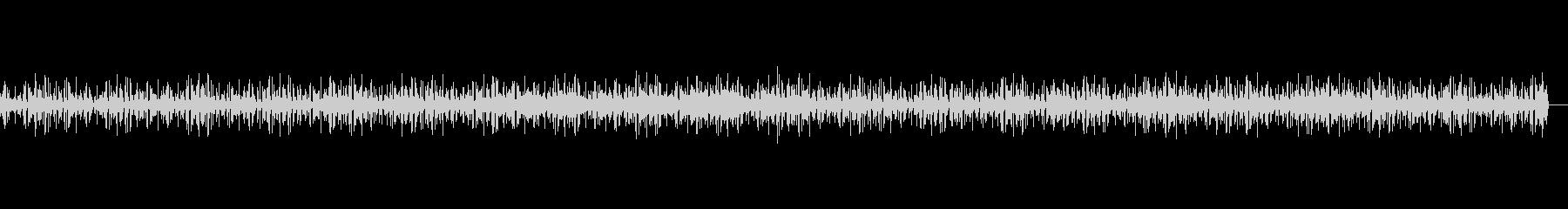 不穏なニュースなどで使われる電子音楽の未再生の波形