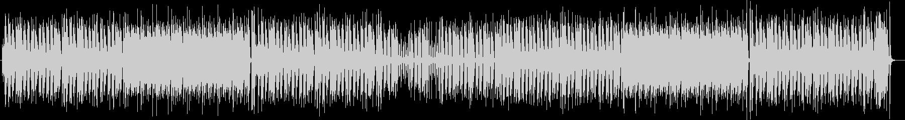 軽快で爽やかな木琴ミディアムポップスの未再生の波形