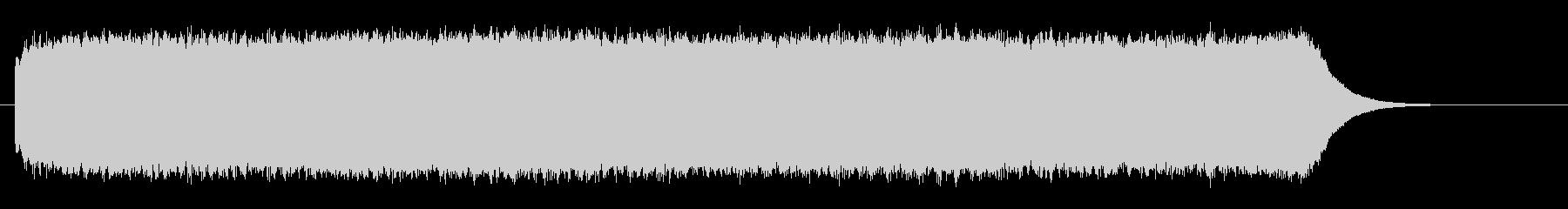 ビーーーーーーーーーーーという耳障りな音の未再生の波形