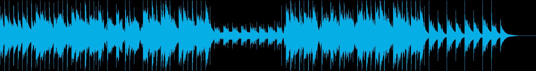 和風ゆったり尺八楽曲,BGM,CM等にの再生済みの波形