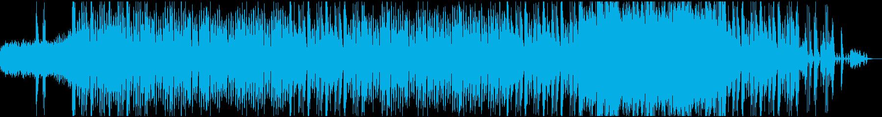 ダークでクールな和風ダブEDMの再生済みの波形
