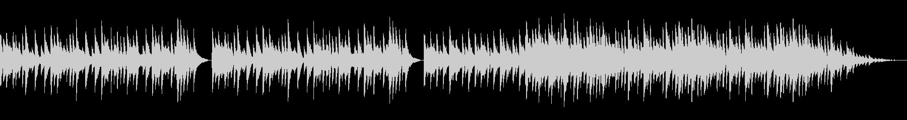動画BGM用のピアノ曲(切ない、哀愁)の未再生の波形