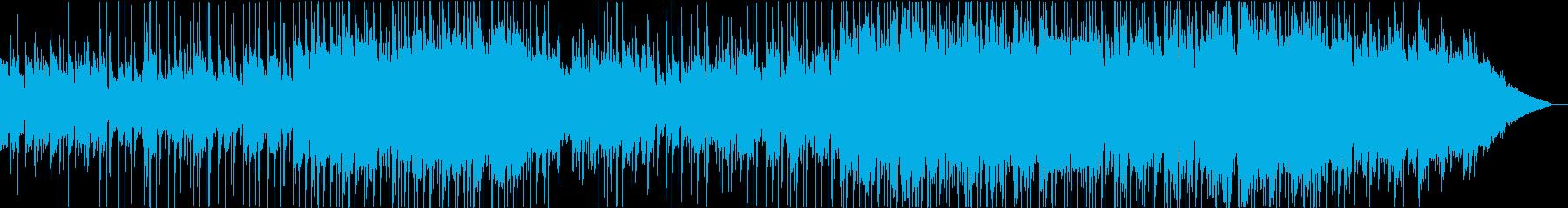感情を表現するオーケストラ弦セクシ...の再生済みの波形