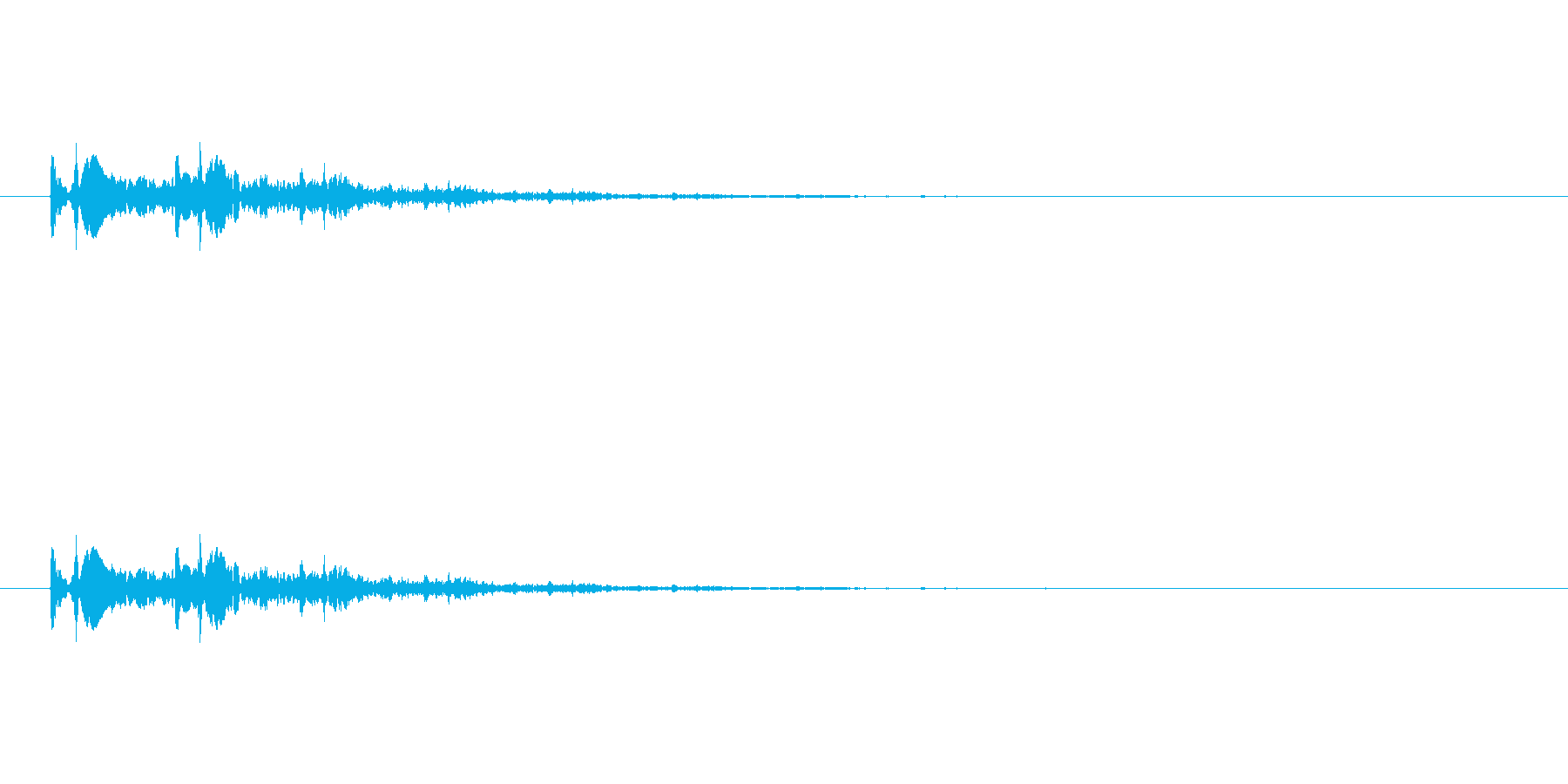 【光る07-2】の再生済みの波形