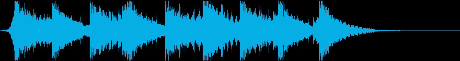 和風で運命的なOPの再生済みの波形