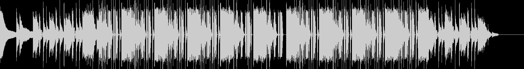 ヒップホップ ビート モダンの未再生の波形