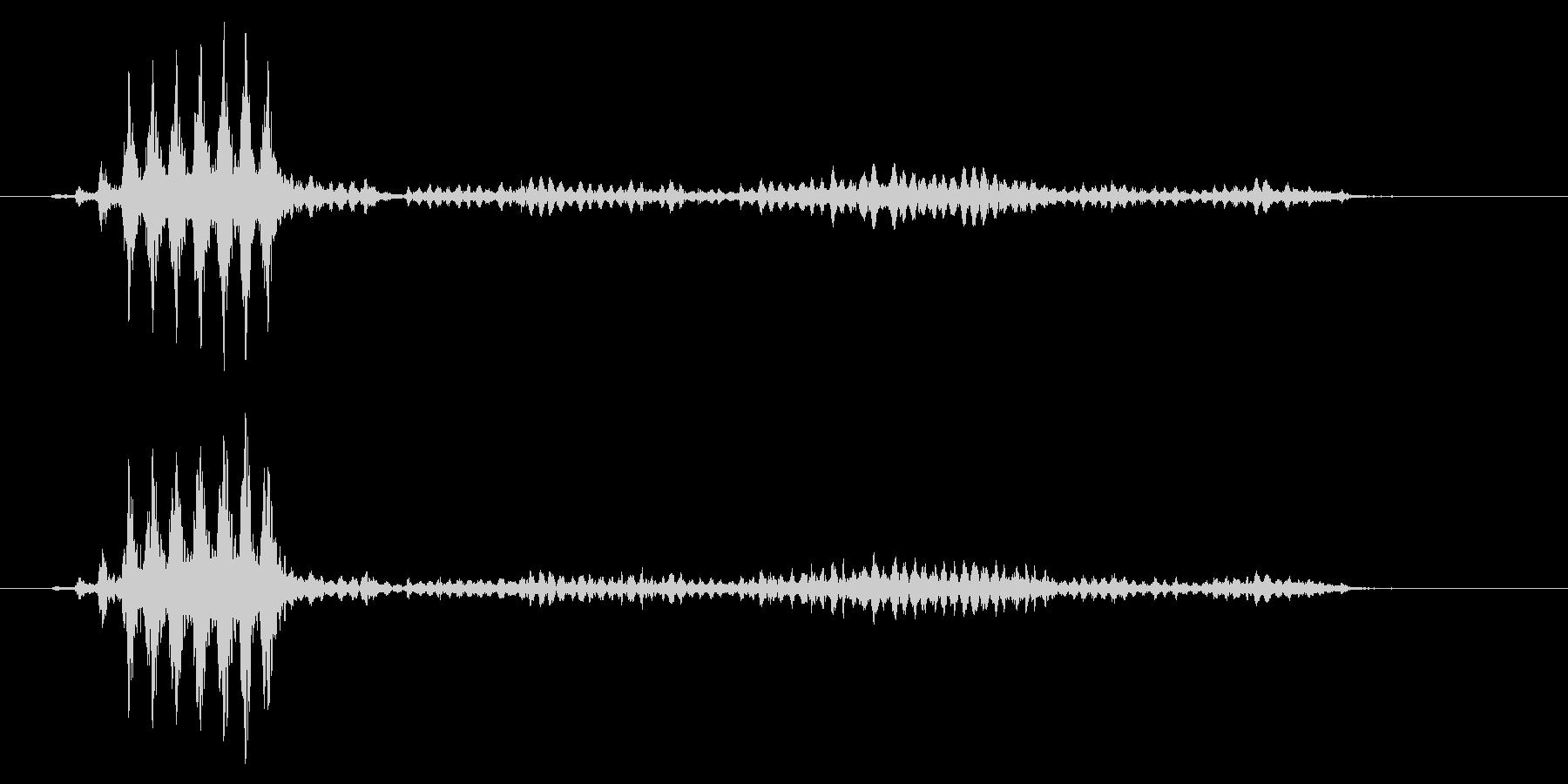 こおろぎの鳴き声_その3の未再生の波形