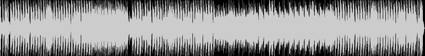 ほのぼの牧歌的で軽やかなインスト曲の未再生の波形