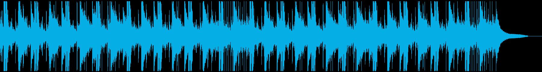 アコギとピアノの明るい曲です。の再生済みの波形