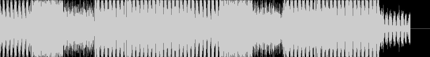 動画/CM/疾走感のあるお洒落エレクトロの未再生の波形